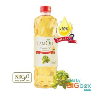 CamOli Naturally Refined Cold Pressed 1kg - Camelina Oil