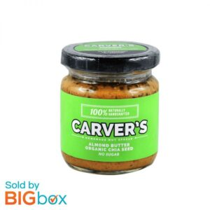 Carver's Almond Butter with Organic Chia Seed 180g